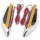 1W 15lm 8-LED Yellow Light Car Steering Lamp (12V / Pair)