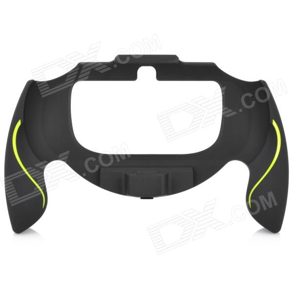 Plastic Gaming Plastic Hand Grip for PS Vita - Black + Yellow
