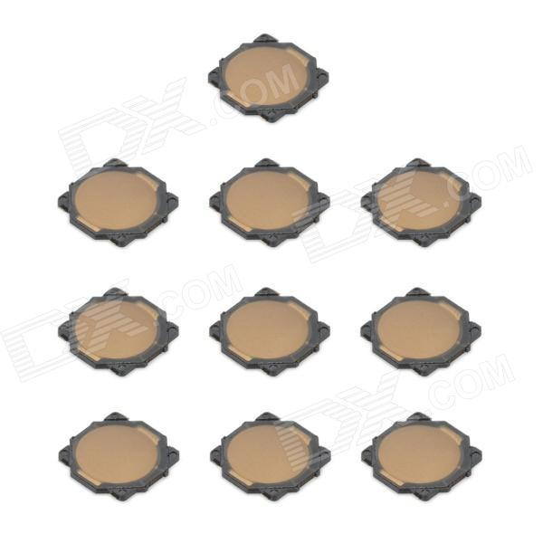 Replacement SMD Tact Switch for Nintendo DSi / NDSi - Black + Bronze (10-Piece) replacement touch screen digitizer for ndsi dsi
