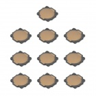 Replacement SMD Tact Switch for Nintendo DSi / NDSi - Black + Bronze (10-Piece)