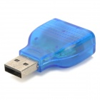 Slim USB 2.0 to PS/2 Adapter Dongle
