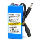 3000mAh Rechargeable Li-ion Battery w/ US Plug Adapter (DC 12V)