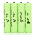 "Ultra Fire Rechargeable ""1500mAh"" Ni-MH AAA Battery - Green (4PCS)"