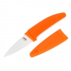 Chic Chefs Horizontal Ceramic Knife - Orange