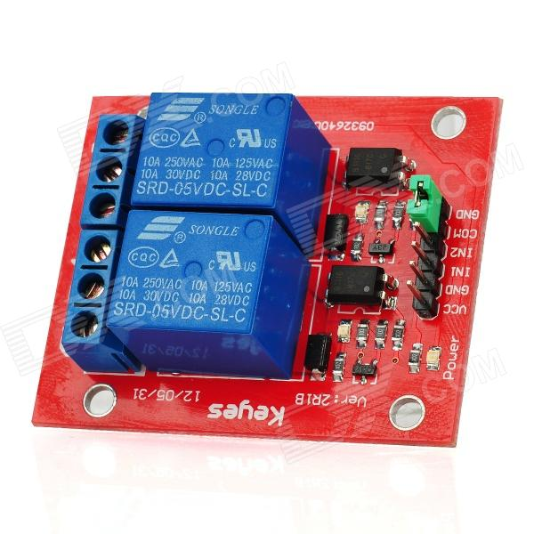 2-Channel Relay Shield Module for Arduino (Works with Official Arduino Boards) itead acs712 current sensor module dc ┬▒ 5a ac current detection module works w official arduino