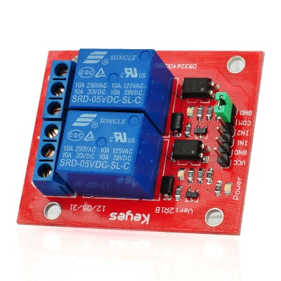 2-Channel Relay Shield Module for Arduino