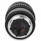 25mm F1.4 CCTV Lens Set w/ Macro Ring for MILC - Black