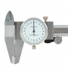 150 mm de acero inoxidable Dial Caliper con Case - Silver