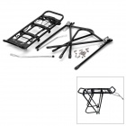 Mountain Road Bike Aluminum Alloy Rear Back Luggage Rack - Black