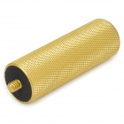 Aluminum Alloy 1/4'' Screw Handle Grip Stabilizer for Camera / DSLR + More - Golden (7.5cm)