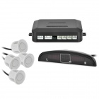LH-811 Car Parking Sensor / Radar Kit - White (12V)