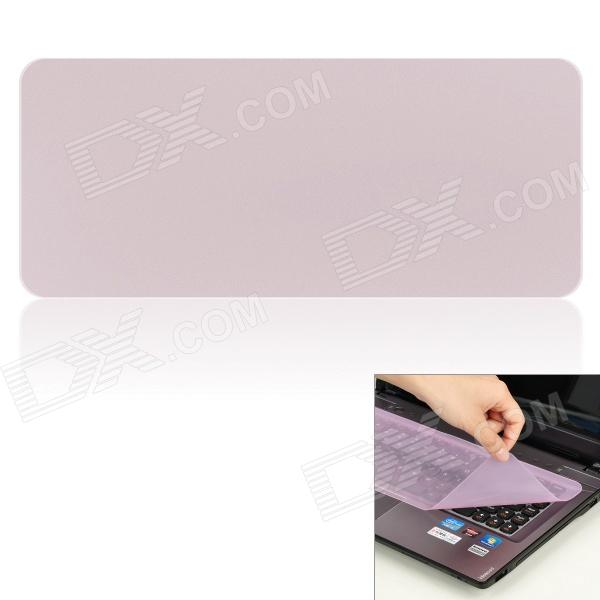 Universal Keyboard Protective Film for Laptop Notebook - Transparent Purple