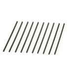2.54mm 1x40 Pin Breakaway Straight Male Header (10-Piece Pack)