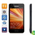 "Samsung Galaxy R i9103 Android 2.3 WCDMA Phone w/ 4.2"" Capacitive Screen, GPS and WiFi - Black (8GB)"