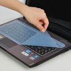 Universal Keyboard Protective Film for Laptop Notebook - Transparent Blue