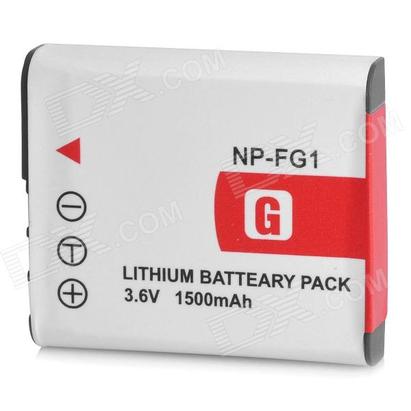 Shoot NP-FG1 3.6V 1500mAh Battery Pack for Sony N1 / N2 / N20 + More np bg1 replacement battery for sony dsc n1 n2 n20 dsc h3 dsc h3 b dsc h7 dsc h7 b dsc h9 more
