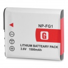 Shoot NP-FG1 3.6V 1500mAh Battery Pack for Sony N1 / N2 / N20 + More