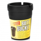 Auto Car Butt Bucket Extinguishing Ashtray - Black