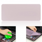 Universal Laptop Keyboard Protective Film + Cleaning Compound Cleaner Set - Transparent Purple