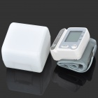 "1.7"" LCD Oscillometric Automatic Wrist Watch Blood Pressure Monitor (2 x AAA)"