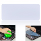Universal Laptop Keyboard Protective Film + Cleaning Compound Cleaner Set - Transparent Blue