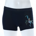 Men's Soft Collagen Fiber Energy KungFu Panda Mantis Brief Underwear - Blue (Size-M)