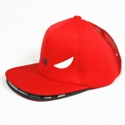 Outdoor Cute Shark Mouth Sun Hat Cap - Red