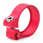 AEST 31.8mm Aluminum Alloy Bicycle Seat Post Clamp - Red