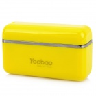 External 1700mAh Emergency Power Battery Charger for iPhone / iPad / iPod - Yellow