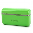 External 1700mAh Emergency Power Battery Charger for iPhone / iPad / iPod - Green