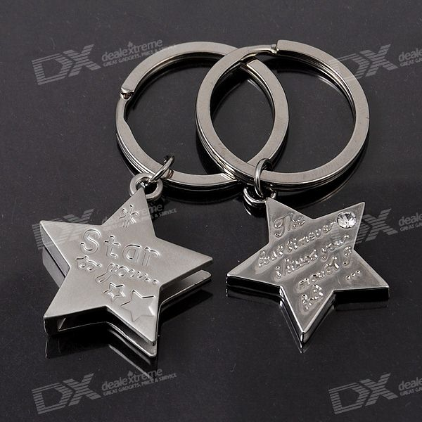 Star-to-you Couple's Keychain (2-Piece Set)