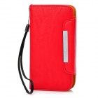 KALAIDENG Protective PU Leather Flip-Open Case for Samsung i9300 - Red