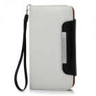 KALAIDENG Protective PU Leather Flip-Open Case for Samsung i9300 - White