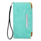 KALAIDENG Protective PU Leather Flip-Open Case for Samsung i9300 - Green