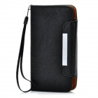 KALAIDENG Protective PU Leather Flip-Open Case for Samsung i9300 - Black