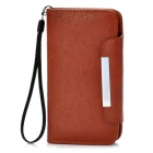 KALAIDENG Protective PU Leather Flip-Open Case for Samsung i9300 - Brown