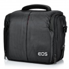 Nylon Water Resistant Camera Bag for Canon SLR Camera - Black (23 x 19 x 12cm)