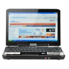 "Grefu N1000 10.2"" Windows XP Laptop w/ Rotating Touch Screen / Bluetooth / Wi-Fi / Camera - Black"