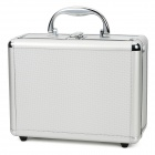 Multi-Function Aluminum + Plastic Storage Box - Silver
