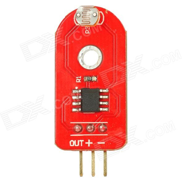 3-Pin Light Sensor Module for Arduino (Works with Official Arduino Boards) itead acs712 current sensor module dc ┬▒ 5a ac current detection module works w official arduino