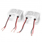 5A DC 24V to DC 12V Step Down Converter - Silver