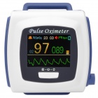 "CMS50F 1.3"" LCD  Rechargeable Wrist Wearable Fingertip Pulse Oximeter  w/ USB Cable (US Plug)"