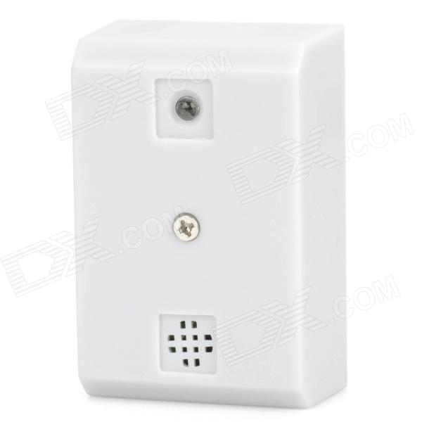Audio Recording Surveillance Sound Monitor Pickup Device - White (9~16V)
