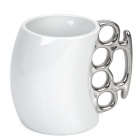 Unique Ceramic Fist Cup Mug (201~300ml)