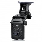 "DOD GSE550 5.0MP Wide Angle Car DVR Camcorder w/ 1.5"" LCD / GPS Logger / TF / Mini HDMI - Black"