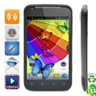 "L21 Android 4.0 WCDMA Bar Phone w/ 4.3"" Capacitive Screen, GPS, Wi-Fi and Dual-SIM - Black"