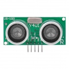 US-100 Ultrasonic Sensor Module - Green
