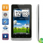 "E8 Android 2.3 WCDMA Tablet Phone w/ 5.0"" Capacitive, GPS, Wi-Fi, Dual-SIM and 4GB TF Card - White"