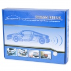 4-Sensor LED Display Car Ultrasonic Backup / Parking Sensor System - Blue