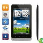 "E8 Android 2.3 WCDMA Tablet Phone w/ 5.0"" Capacitive, GPS, Wi-Fi, TV and 4GB TF - Black"